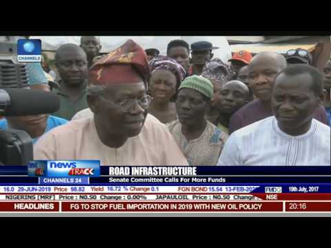 Road Infrastructure: Senate Committee Calls For More Funds