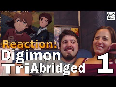 Digimon Tri Abridged Ep.1: Reaction #AirierReacts