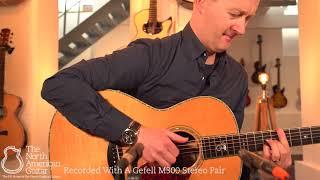 Santa Cruz Guitar Co, OOO Acoustic Guitar Played By Stuart Ryan (Part One)