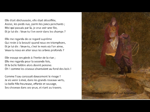 Victor Hugo Elle était Déchaussée Les Contemplations 1856