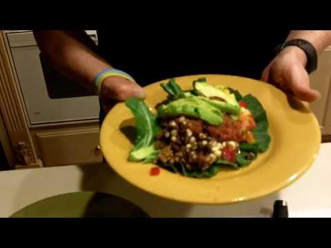 How to make raw vegan tacos!