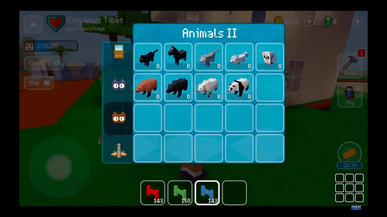 Block craft 3d mobile gameplay new update youtube for Block craft 3d online play