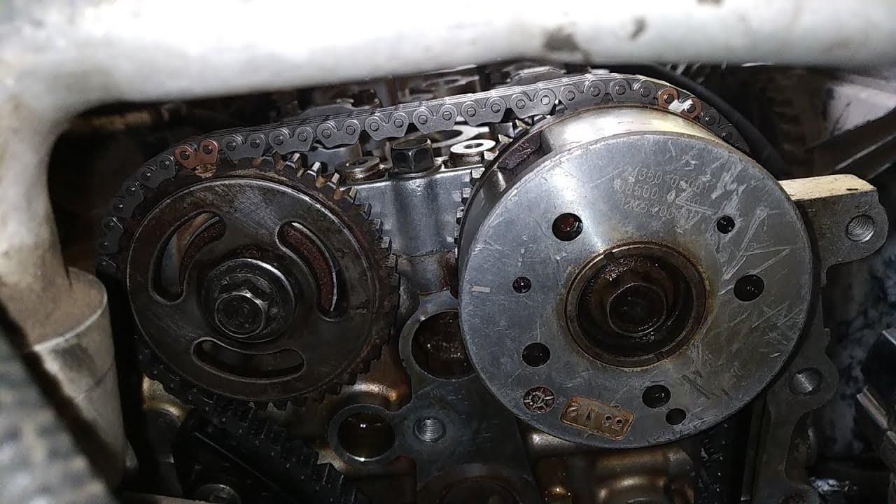 Hyundai Kappa 2 engine Timing Mark