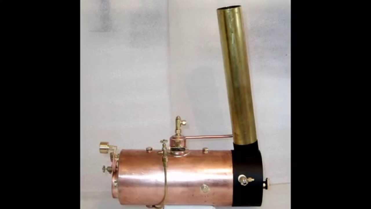 Modell-Dampfkessel 120250 - Probe-/Leistungsheizen - YouTube