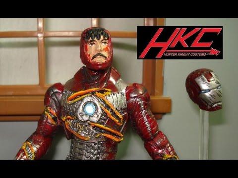 MARVEL iron man mark v MEGA bloks action figure