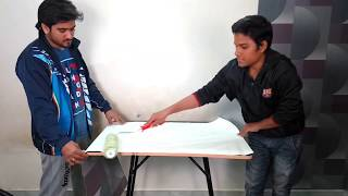 How to apply glue on Wallpaper | How to apply wallpaper paste