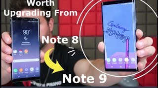 Upgrade Note 8 To Note 9? - Dilemma Answered