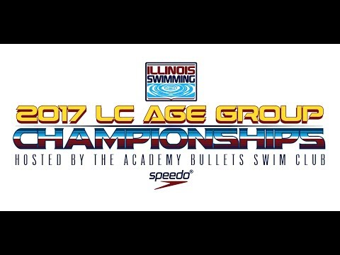 Illinois Swimming Live Stream - 2017 Age Group Long Course Championships - July 27-16