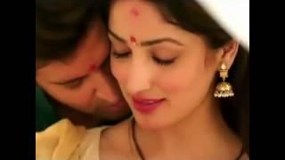 Kaabil 2016 movie romance kiss Hrithik Roshan Yami Gautam
