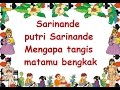 Download Lagu SARINANDE LIRIK - Lagu Anak - Cipt. .......... - Musik Pompi S..mp3