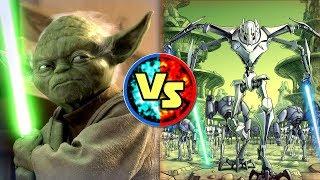 Star Wars Versus: Yoda VS. General Grievous - Star Wars Basis Versus #7