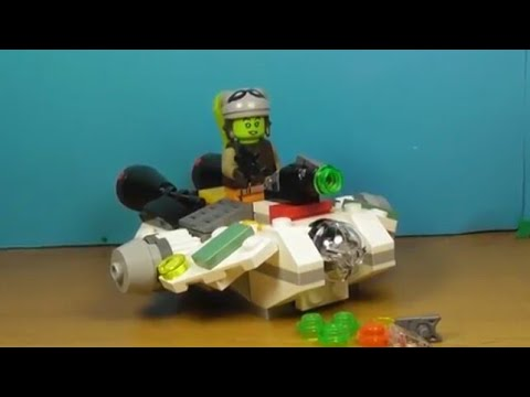 Распаковка LEGO набора Star Wars Ghost