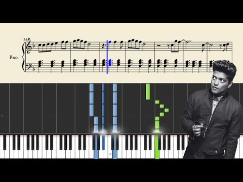 Bruno Mars - Marry You - EASY Piano Tutorial + Sheets