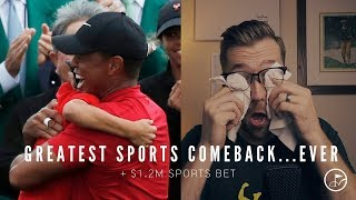 THE GREATEST COMEBACK IN SPORTS - TIGER WOODS WINS 2019 MASTERS