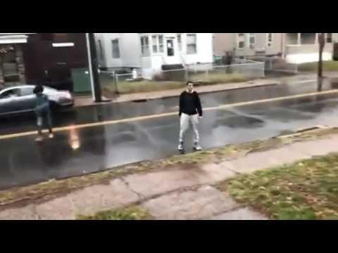 fight in east side restaurant parking lot
