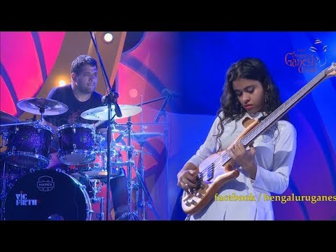 Amazing Young Bassist Mohini Dey - Extract Cassical Fusion Song
