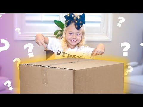 EVERLEIGH OPENS GIANT MYSTERY SURPRISE BOX FULL OF TOYS!!!!