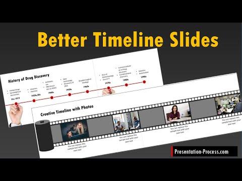 Create Better Timeline Slides For Presentations + PowerPoint Tutorial