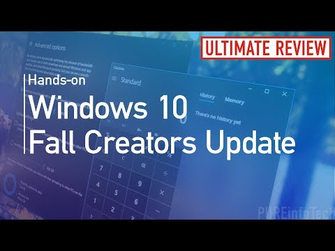 Windows 10 Fall Creators Update (Official Release): Hands-on review new features, changes