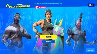 HOW TO VOTE *EXCLUSIVE SKINS* in the NEW FORTNITE STORE DAY 12 SEPTEMBER!