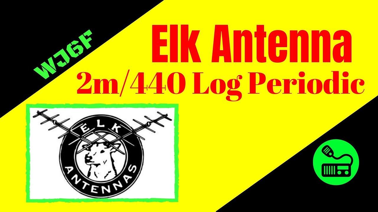 Ham Radio Antenna - Elk Antenna 2M/440 Log Periodic Antenna