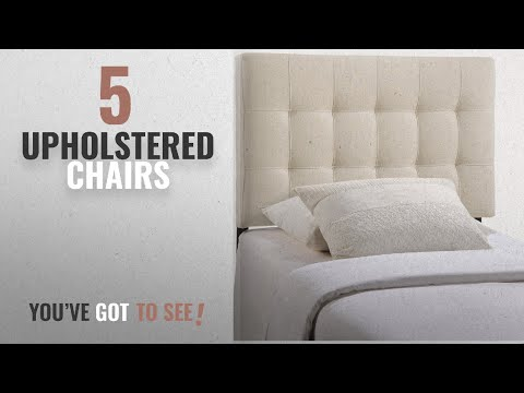 Top 10 Upholstered Chairs [2018]: Modway Lily Upholstered Tufted Fabric Headboard Twin Size In Ivory