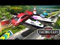 watch he video of Marvellous Racing Cars Highway Stunts