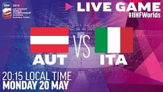 Austria vs. Italy | Full Game | 2019 IIHF Ice Hockey World Championship