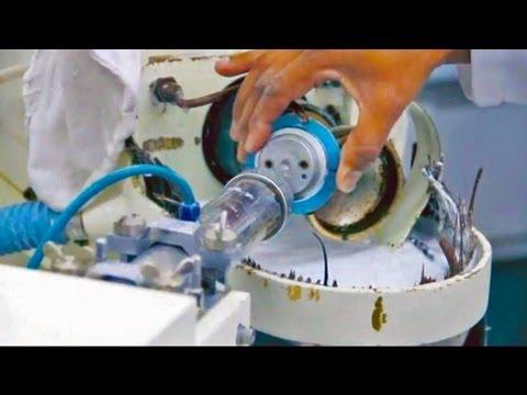 Asi es como se hacen las gafas - fabricación y montaje - YouTube