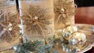 видео Новогодний декор 2015 года: новогоднее декорирование дома