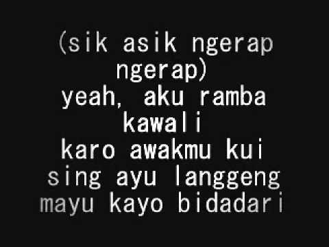 Hip Hop Mencari-alasan versi (Lyric) Gaul Men