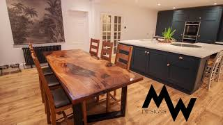 Chestnut Resin Dining Table no 1