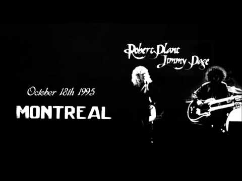 Jimmy Page & Robert Plant Live in Montreal
