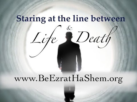 Staring at the line between life & death TRUE STORY
