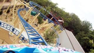 Bombora On-Ride (HD POV) Front Seat Lagoon Park Utah Roller Coaster