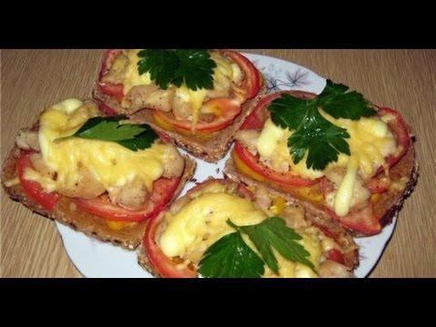 Вкусные горячие бутерброды в микроволновке