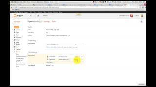 Transfer Blogger Blog Outside of Google Apps Domain