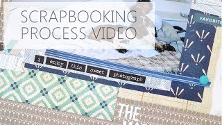 Scrapbooking Process: The Magic Couch (8.5x11)