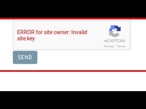 Error Site key Recaptcha Fix SMM Panel By BoostInfinite com