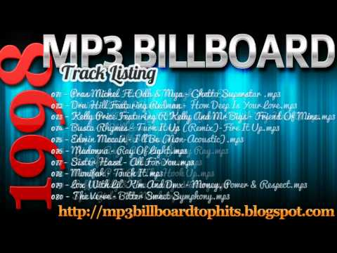 mp3 BILLBOARD 1998 TOP Hits mp3 BILLBOARD 1998