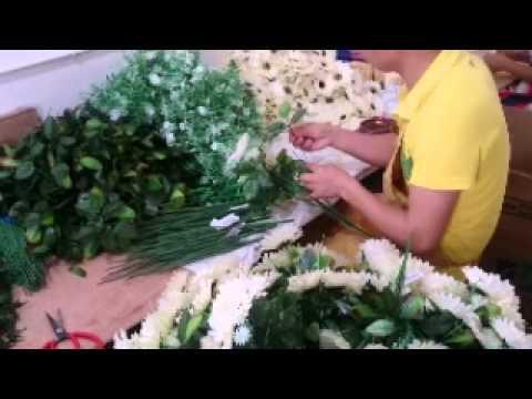 Yiwu artifical flower factory gkflower youtube mightylinksfo