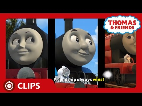 Race with You - Sing-along Karaoke Song | Start Your Engines! | Thomas & Friends UK