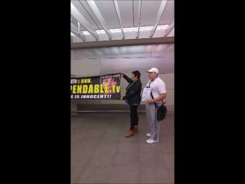 Schapelle Corby Supporters Interview @ Brisbane Airport 28/05/17