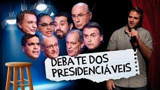 Fábio Rabin - Debate dos Presidenciáveis (Band)
