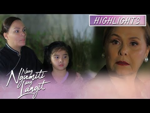 Divina refuses to let Mikmik work as a housemaid | Nang Ngumiti Ang Langit (With Eng Subs)