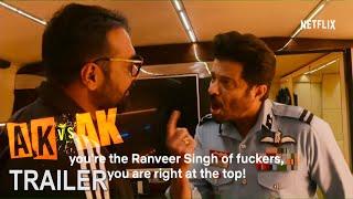 AK vs AK - 2nd Trailer | Anil Kapoor  Version | Anurag Kashyap, Vikramaditya Motwane | Netflix India