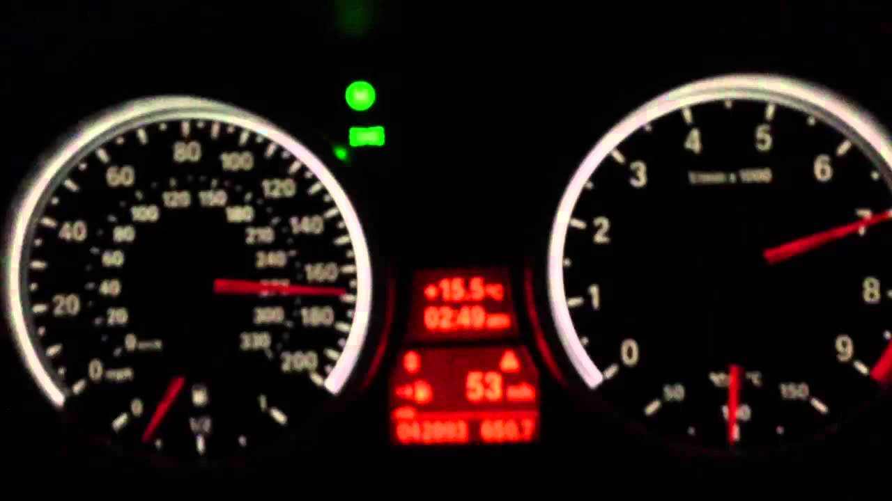 BMW M3 top speed e92 e46 - YouTube