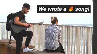 Strangers Help Me Write a 🔥 Song! thumbnail