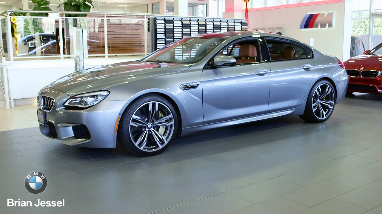 2016 bmw m6 gran coupe at brian jessel bmw youtube. Black Bedroom Furniture Sets. Home Design Ideas