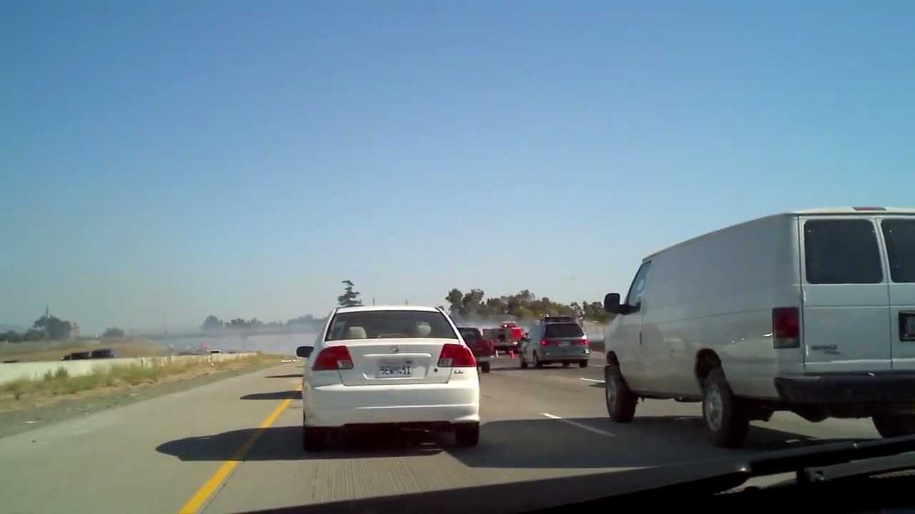 Highway 101 Accident between San Jose and Gilroy